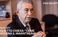 """Ciao Giulietto – Giulietto Chiesa: """"Come Funziona Il Mainstream"""""""