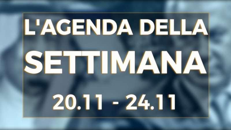 PTV News – L'agenda della settimana dal 20.11.17 al 24.11.17